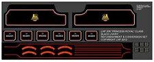 TRIANG RAILWAYS HORNBY R50 BLACK PRINCESS LOCO & TENDER REFURB KIT LHP HD206