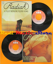 LP 45 7'' RADIAH Il pleut bergere Clock song 1976 france CBS FERRER cd mc dvd