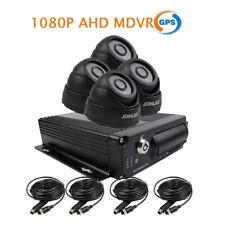 4CH GPS1080P AHD 512GB SD Car DVR MDVR Video Recorder 4 Camera for Truck Van Bus