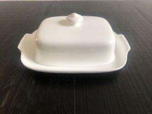 VILLEROY & BOCH BUTTERDOSE NOBLESSE ROYAL -  Premium Bone Porcelain