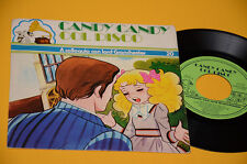 """CANDY CANDY 7"""" A COLLOQUIO CON LORD GRANCHESTER 1°ST ORIG ITALY SIGLE CARTONI NM"""