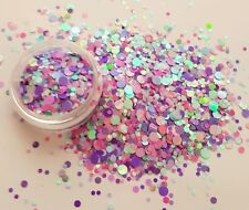 Nail glitter DISCO TECH dots For acrylic or gel detail work