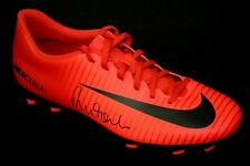 *New* Robbie Fowler Liverpool Hand Signed Red Nike Football Boot