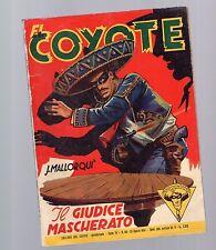 collana del coyote - il giudice mascherato - n.86 23 giugno 1954