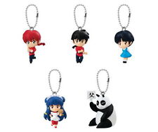 Bandai Ranma 1/2 Key chain Keychain Swing Figure Figurine Set of 5