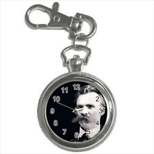 Friedrich Nietzsche Pocket Watch Keychain
