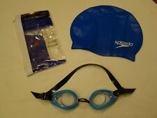 Speedo Swimcap and Intex Swim Goggles