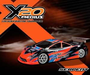 SERPENT X20 '21 1:10th Electric Touring Car (Carbon Chassis)