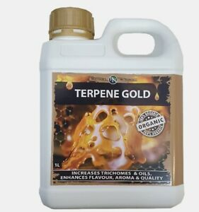 Hydroponics Bud Quality Raise Professor's Organic Nutrients Terpene Gold 1L