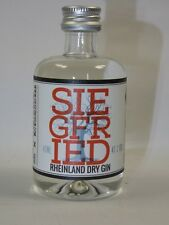 SIEGFRIED DRY Gin 40 ml 41% mini flasche bottle miniature bottela mignonnette
