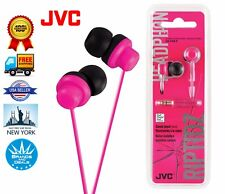 GENUINE ORIGINAL JVC HAFX8P RIPTIDZ Inner Ear Stereo Headphone Earbud (Pink)