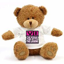 Vi - The Woman, Myth, Legend Teddy Bear - Gift For Fun