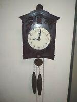 Carbolite mechanical cuckoo clock 1960s USSR