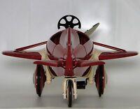 Air Plane Pedal Car WW1 Vintage Airplane Metal Collector >>READ FULL DESCRIPTION