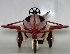 An Air Plane Pedal Car  WW1 1910s Vintage Airplane Aircraft Midget Metal Model