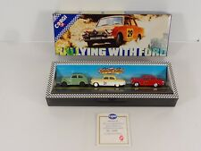 Corgi Rallying with Ford Set of 3 Die Cast Cars Item D16/1