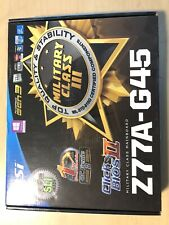 MSI Z77A-G45 LGA 1155 ATX Motherboard w/ Intel G2020 Processor plus 8GB RAM