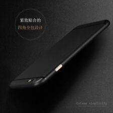 A Prueba De Choques Mate Claro TPU Gel Espalda Funda Cartera para iPhone 6 6s