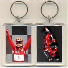 F1 Champions. 2003 Michael Schumacher. Keyring / Bag Tag.