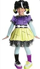 Rubies Lalaloopsy Scraps Stitched N Sewn Halloween Costume Girl Size M ( 8-10)