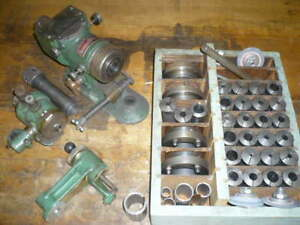 Hybco tap grinder tooling, 5C collets