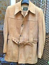 New listing Vintage Mens's Suede Norfolk Jacket Nos I. Magnin!