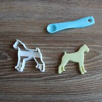 Boxer Cookie Cutter Dog Doggie Pup Pet Treat Puppy Pupcake topper cake