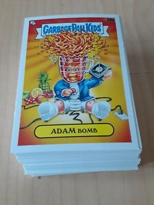 100-card LOT of 2021 GARBAGE PAIL KIDS FOOD FIGHT BASE CARDS  Adam bomb