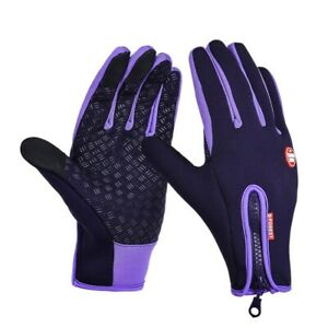 Touchscreen Insulated Winter Full Finger Glove Waterproof Hiking Camping Cycling