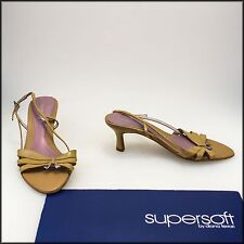 SUPERSOFT DIANA FERRARI WOMEN'S FASHION HEELS SANDALS SHOES SIZE 7.5 C