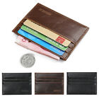 Slim New Men Leather Credit Card Holder Mini Wallet ID Case Purse Bag Pouch Gift