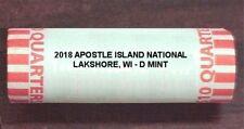 2018 APOSTLE ISLAND NATIONAL LAKESHORE, MI  D MINT ROLL - H/T ** PRESALE**