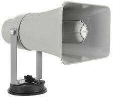 Veicolo del megafono Loud Altoparlante riproduce USB & SD con loop RECORDER SIRENA E FISCHIO