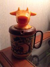 Moo Cow Farm Plastic Creamer~Vintage~Whirley Industries