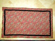 Ralph Lauren Bleeker Street Paisley King Pillow Sham with Velvet trim