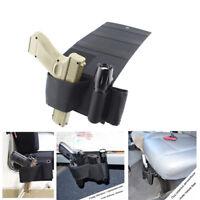 Concealed Gun Holster Under Car Seat Bedside Pistol Holster with Mag Holder
