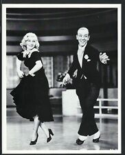 Ginger Rogers + Fred Astaire Photo Portrait Vintage