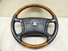 BMW E39 5er Lenkrad Holz Lederlenkrad Multifunktion Airbag Facelift