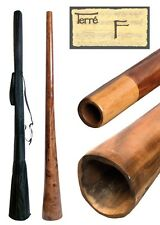 Handmade Didgeridoo Eucalyptus Sandwich 67-71 inch with bag - F