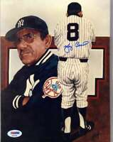 Yogi Berra Psa Dna Autograph 8x10 Photo Yankees Signed Authentic