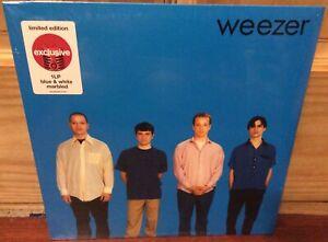 WEEZER BLUE ALBUM LP BLUE & WHITE MARBLED VINYL EXCLUSIVE LIMITED EDITION NEW