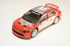 . ALTAYA IXO MITSUBISHI LANCER WRC MC RALLY RED EXCELLENT CONDITION