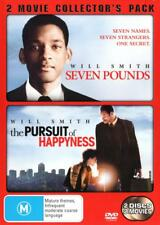 SEVEN POUNDS / THE PURSUIT OF HAPPYNESS New 2 Dvd WILL SMITH ***