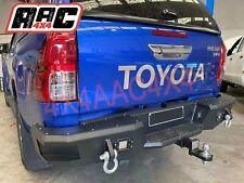 Steel Rear Bar to suits 2015-2019 Toyota Hilux Heavy Duty Steel Tow Bar
