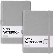 """2-Pack Pocket Notebook 3.5"""" x 5.5"""", Small Notebook/Journal Note Book/Pad Mini"""