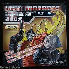 Justitoys WST World's Smallest Robots Dinorobot Desert Warrior Snarl Stegosaurus