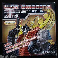 Justitoys WST World's Smallest Robots Dinorobot Desert Warrior Snarl Stegosaurus