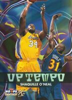 1999-00 NBA Hoops Decade Up Tempo #UT3 Shaquille O'Neal Los Angeles Lakers