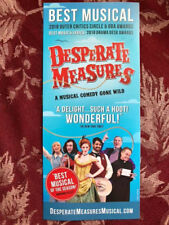 Desperate Measures ad/flyer Broadway  musical NYC