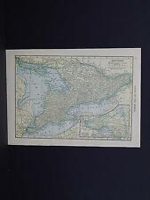 Small Maps, c. 1910, Double Sided, Canada S3#4 Ontario